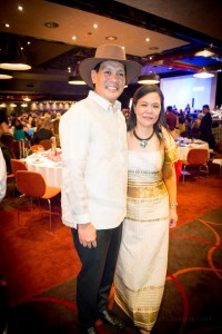 Joey Marquez with Aguman Pres. Marivic Manalo